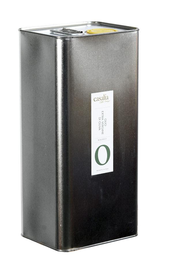 Olio Extravergine di Oliva da agricoltura biologica – 5 lt