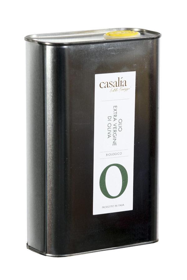Olio Extravergine di Oliva da agricoltura biologica – 1 lt