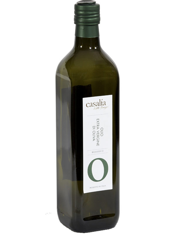 Olio Extravergine di Oliva da agricoltura biologica – 0,75 lt