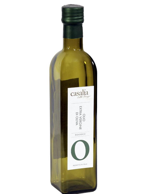 Olio Extravergine di Oliva da agricoltura biologica – 0,50 lt